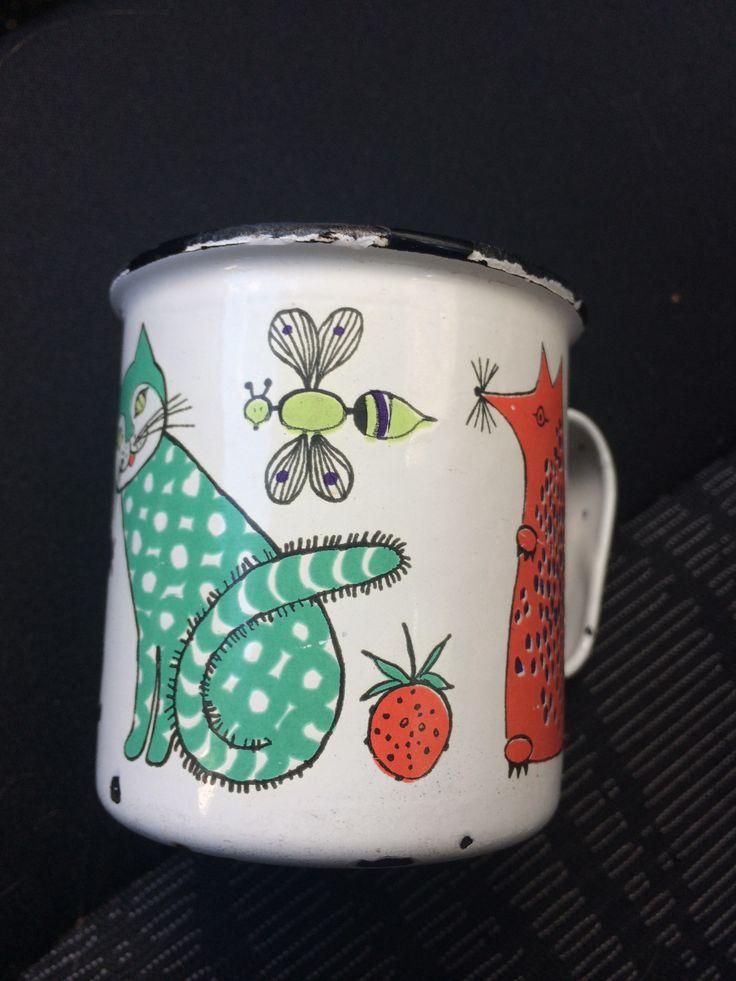 Nooan Arkki Finel enamel mug