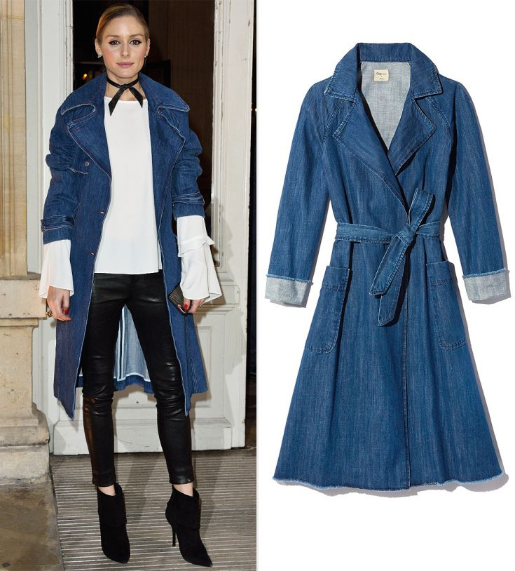 The Trend: Denim Trench Coat