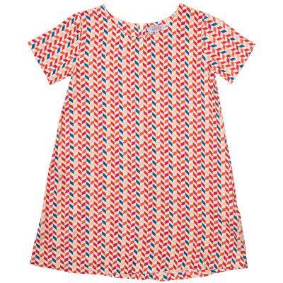 Tahlia by Minihaha girls chevron dress