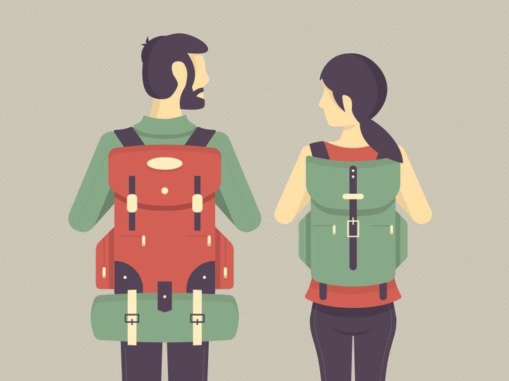 Backpackers by Matt Anderson (Rochester NY)
