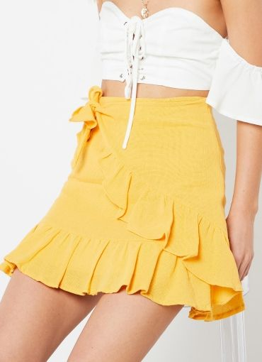 Carnage Skirt - Yellow