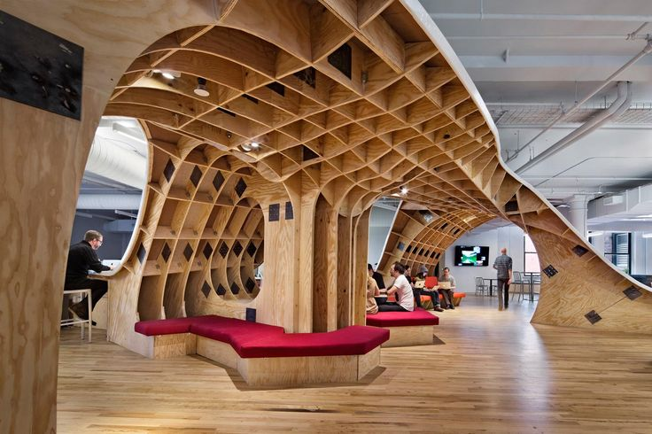 The Barbarian Group's NYC Headquarters. Just one word: WOW.
