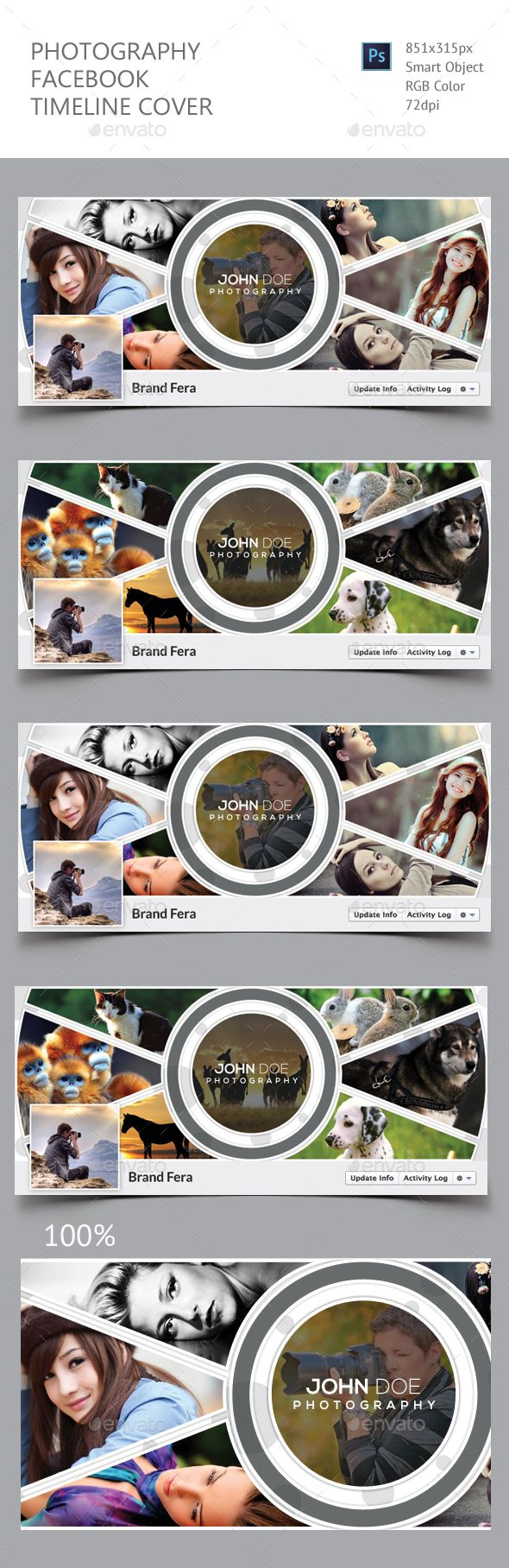 Photography Facebook Timeline Cover Template PSD. Download here: https://graphicriver.net/item/photography-facebook-timeline-cover/17443863?ref=ksioks