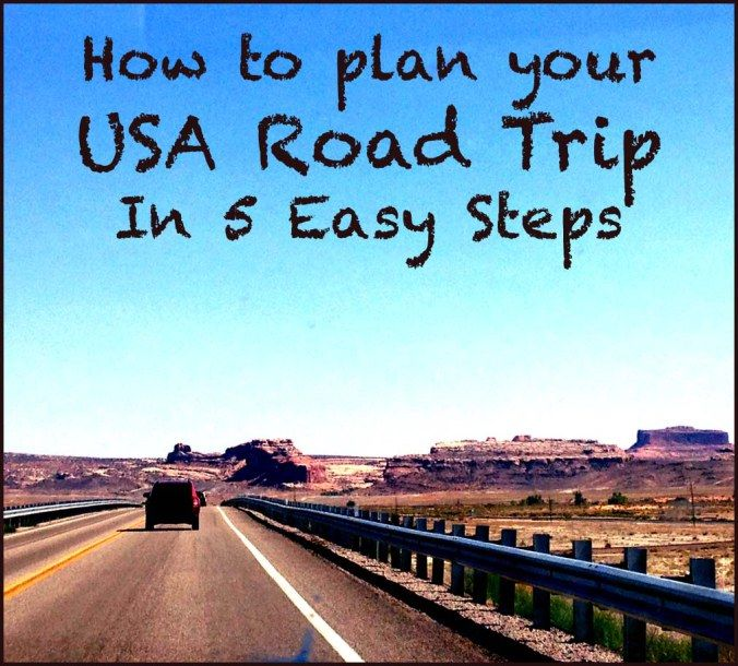 How to plan you USA Road Trip in 5 Easy Steps #roadtrip #usa