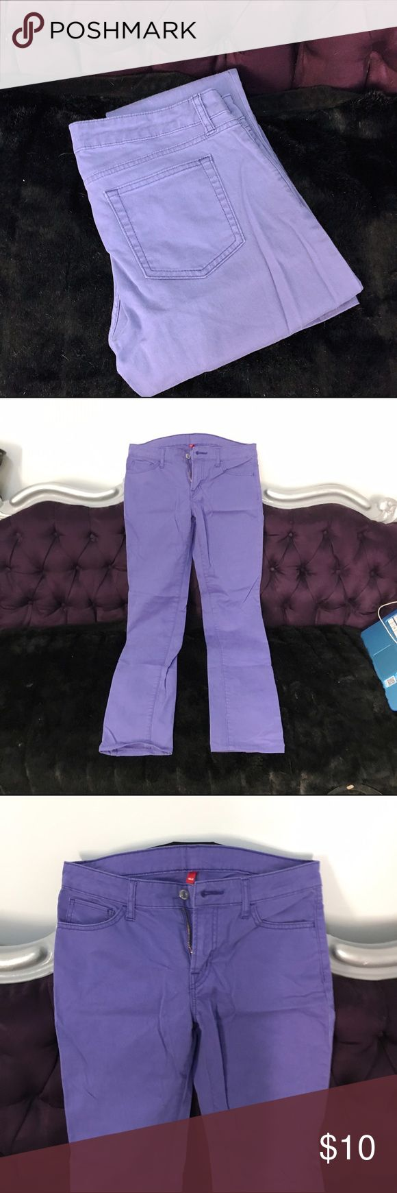 Uniqlo purple ultra stretch jeans Worn a few times only, awesome condition!  27x33. Uniqlo Pants Skinny