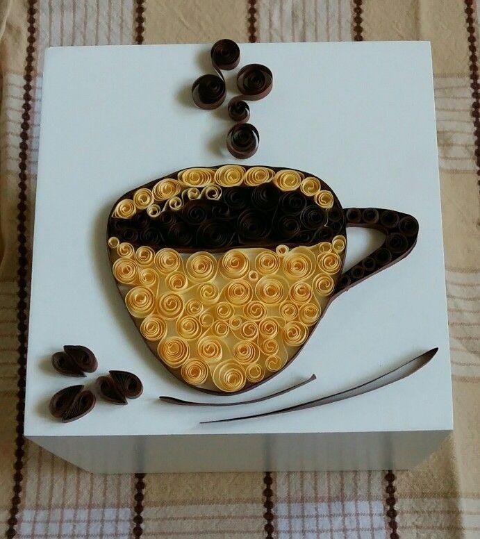 Quilling caffè