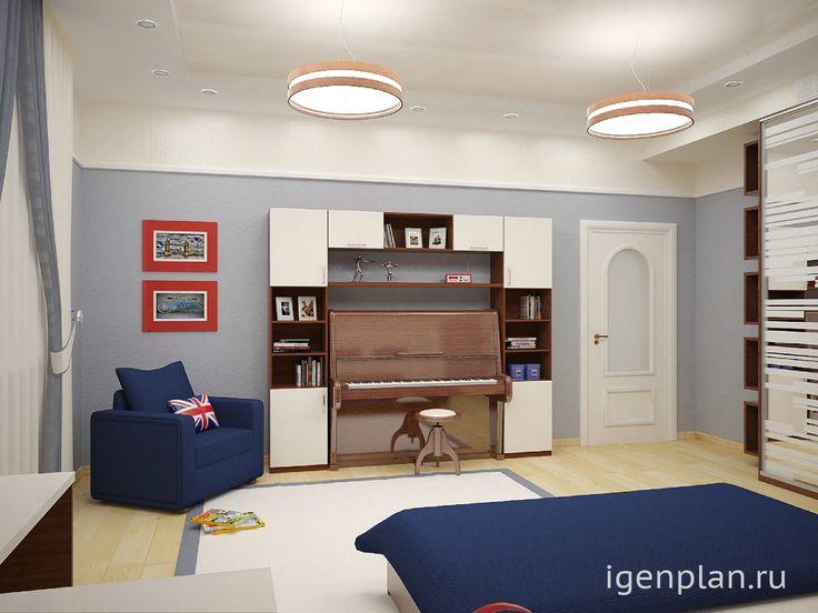 Скрываем фортепиано. #Комната в двухэтажном коттедже. Дизайнер: Анна Шуткина. http://igenplan.ru/interior/doma-i-kottedzhi/dizayn-kottedzha7822/