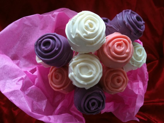 Cake Pops Roses Valentines Day Or Any Special By