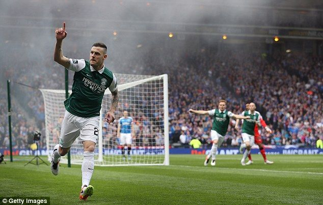Anthony Stokes got his side off to a great start after only three minutes at Hampden Park when he took the lead after three minutes