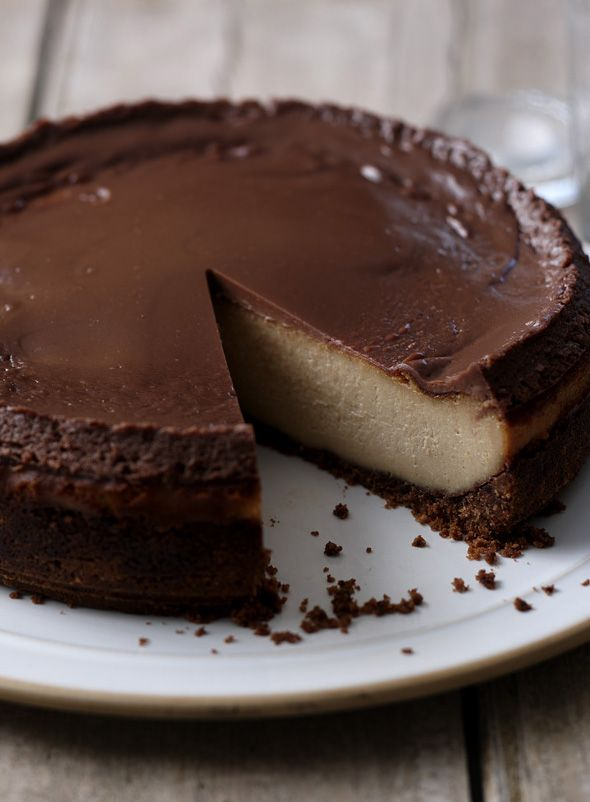 Chocolate and peanut butter cheesecake is for very, VERY special occasions.