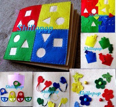 Что это? Развивающая книжка «Учу цвета» состоит из 5 страниц – игр, которые позволят малышу запомнить основные цвета: красный, желтый, синий, зеленый.…
