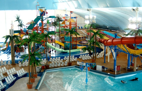INDOOR Niagara Falls Water Park - Fallsview Waterpark, Niagara Falls Ontario