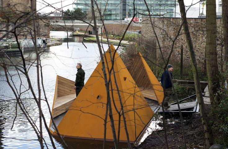 MIRADOR DE CAMLEY STREET, LONDRES (REINO UNIDO) / AOR. Acaba de inaugurarse en el canal de Regant, cerca de King's Cross. Un lugar de tranqu...