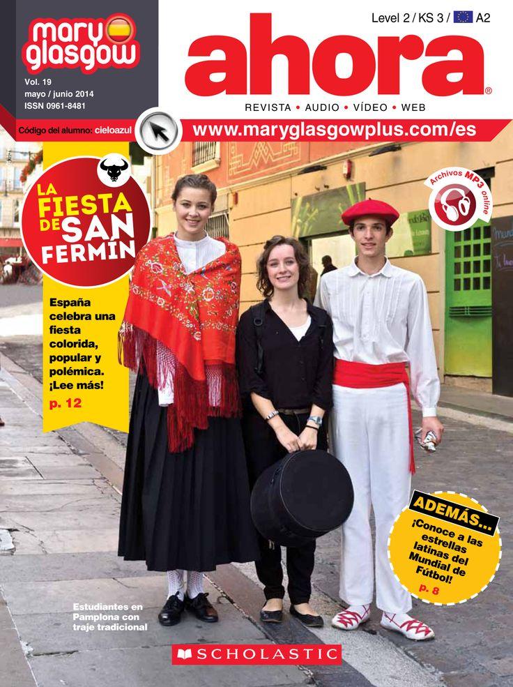"""Présentation de la fête populaire  espagnole  """"San Fermin"""""""