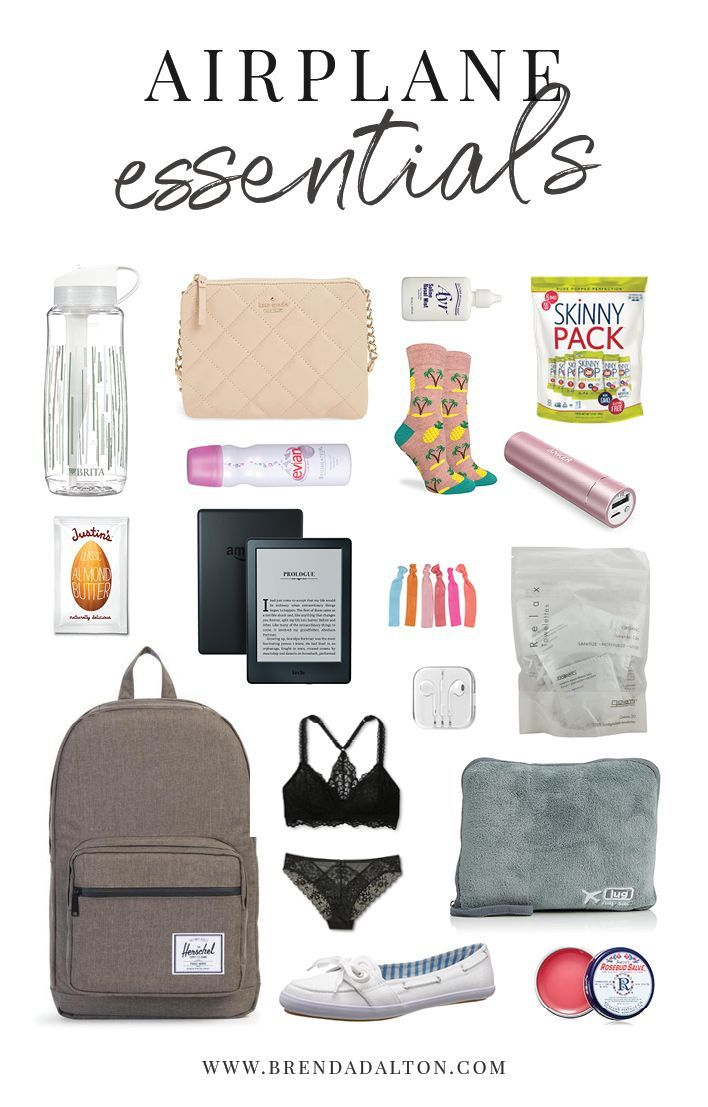 Airplane essentials for the modern woman. What to pack in your carry-on for easy and stylish traveling by air for arthritis and autoimmune disease. Read more from brendadalton.com