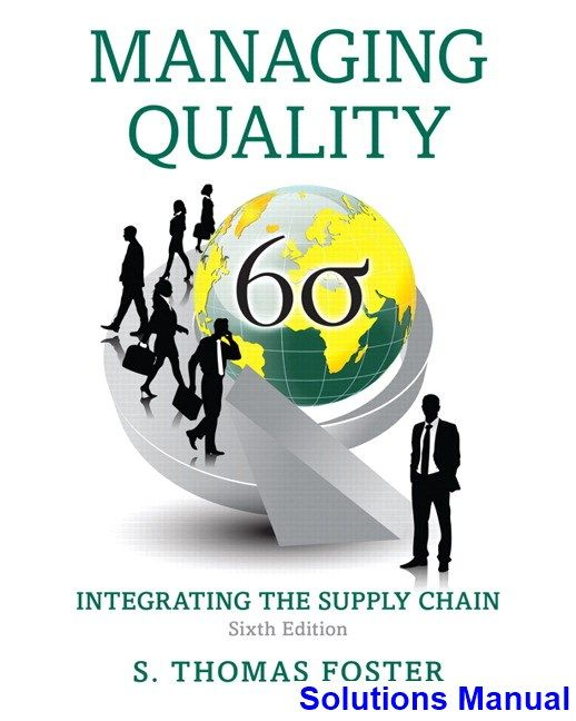 69 best solution manual download images on pinterest for courses in quality management navigating quality management with a unifying framework fosters managing quality integrating the supply chain sixth fandeluxe Gallery
