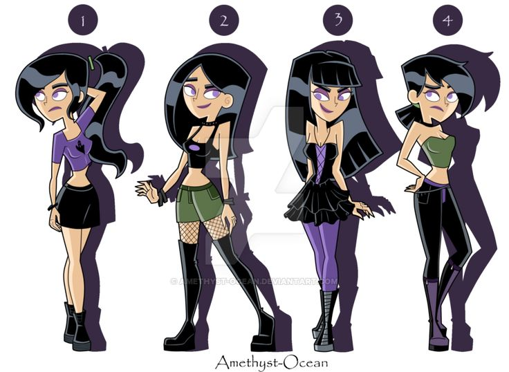 Sam Outfits Part 1 by Amethyst-Ocean on DeviantArt<<<I like 1 & 3