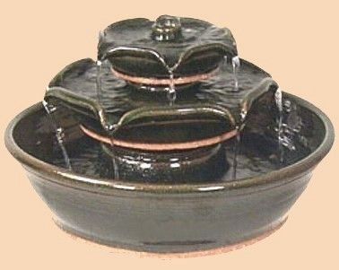 ceramic tabletop fountains images - Google Search