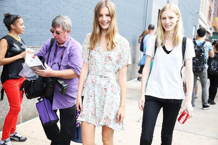 Street looks à la Fashion Week printemps-été 2014 de New York, Jour 7 http://www.vogue.fr/defiles/street-looks/diaporama/street-looks-a-la-fashion-week-printemps-ete-2014-de-new-york-jour-7/15200/image/830528#!17