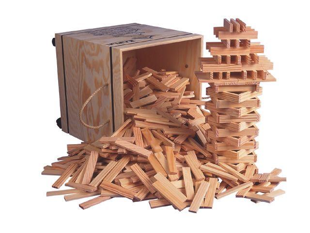 Kapla schoolset, 1000 onderdelen in kist http://www.kgrolf.nl/product/1320/3012101_16929_1620_252_30/kapla-schoolset-1000-onderdelen-in-kist.aspx