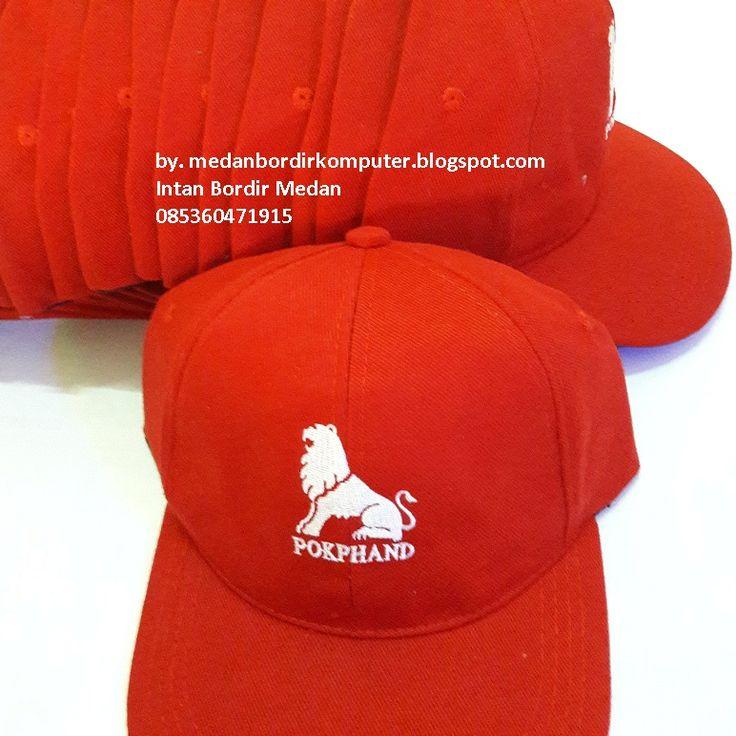 bordir topi di medan untuk Pokphand
