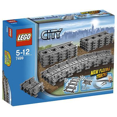 Lego city #trains flexible & #straight #tracks 7499 box set,  View more on the LINK: http://www.zeppy.io/product/gb/2/331451018767/