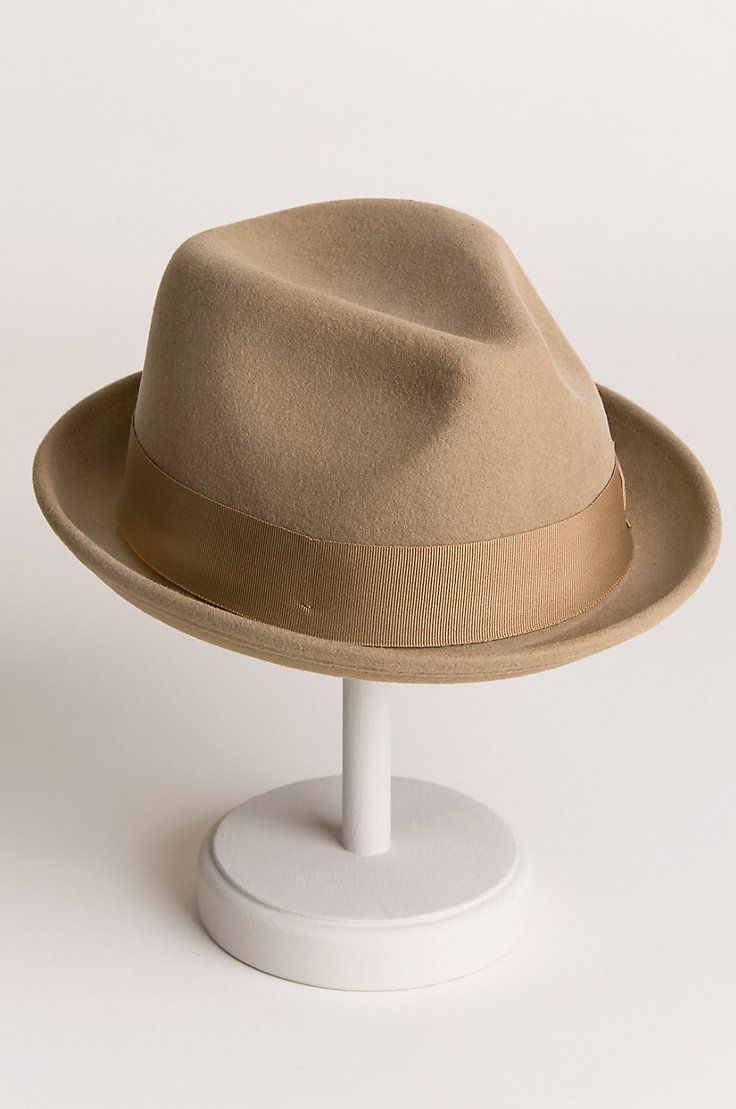 8e0ef309fddbe1 Good Boy Wool Felt Fedora Hat in 2019 | Panama hat | Hats, Fedora hat, Hats  for men