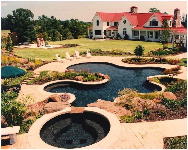 580 best In Ground Pools & Pool Enclosures images on Pinterest ...