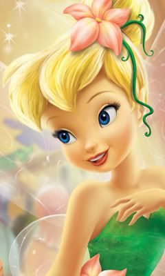 Tinkerbell reminds me to have faith and trust. And when that doesn't work, throw some glitter on it.