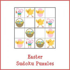 Easter Sudoku Puzzles store product image
