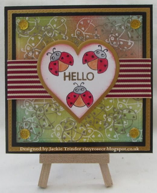 Tinyrose's Craft Room: Isobel Craft Collection - Ladybirds