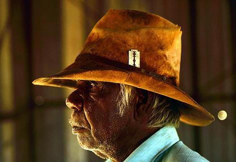 Aboriginal Australian stockman