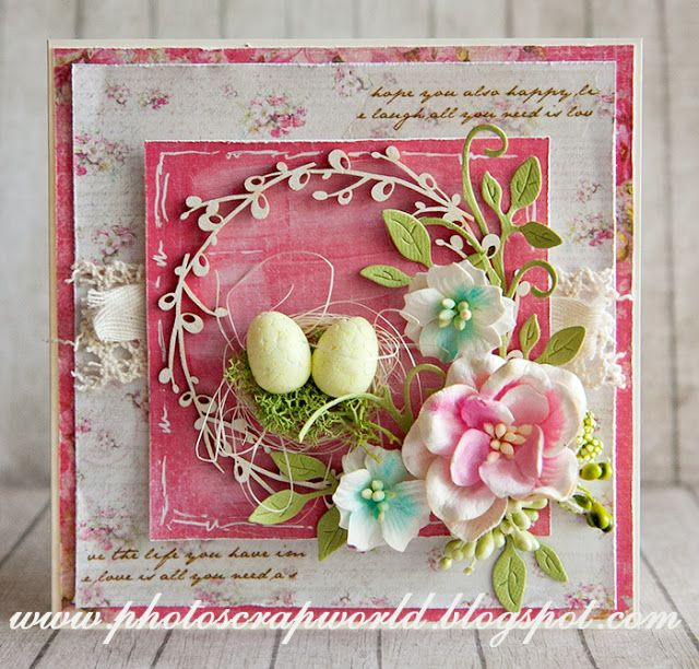 Lemoncraft: inspired by Agnieszka: canvas and Easter - Inspirations from Agnieszka: canvas and Easter