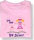 I'm the Big Sister!, I'm Going to be the Big Sister! Cute shirts.