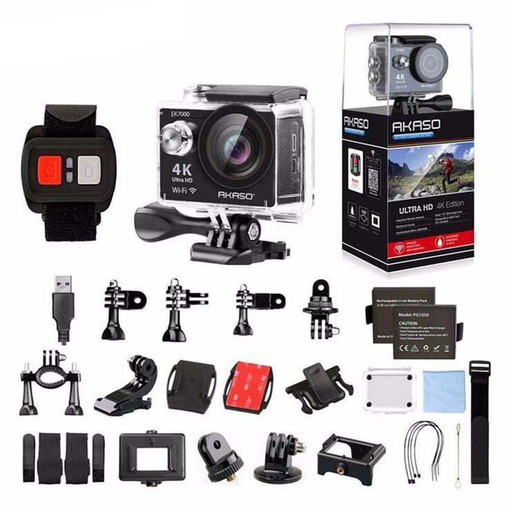 AKASO EK7000 4K WIFI Outdoor action Camera Video Sports Camera wifi Ul