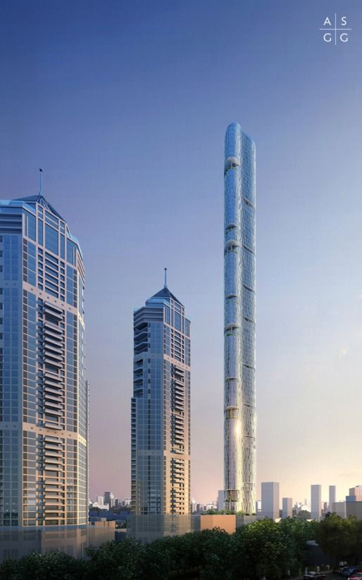 """Mumbai's tallest skyscraper designed to """"confuse the wind"""" Sustainability 
