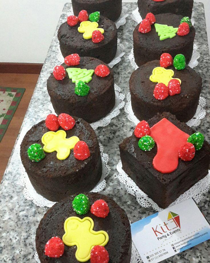 Mini Tortas de Navidad