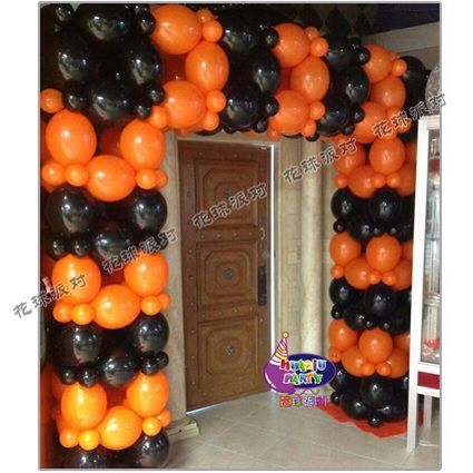 1000 images about halloween balloon decoration on for Balloon decoration for halloween