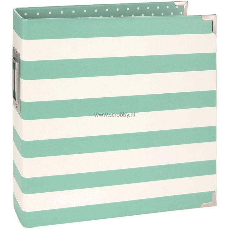Simple Stories Sn@p Binder 6x8 Robin's Egg Stripe | €8.75   WoW. Love this one !!