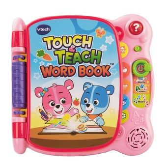 Educational - Touch & Teach Word Book - Pink