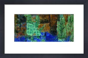 Haus im Wasser. 1930 Paul Klee