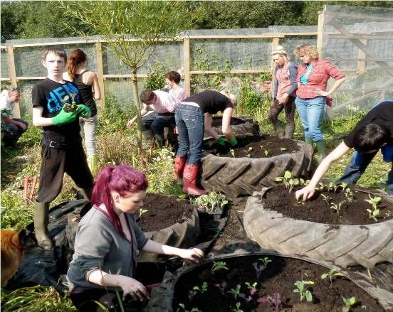 Incredible Edible free food project replicated worldwide