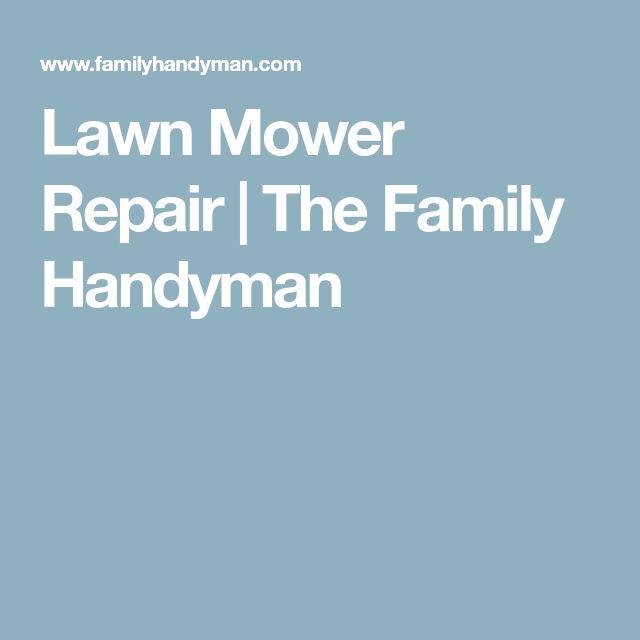 Lawn Mower Repair   The Family Handyman