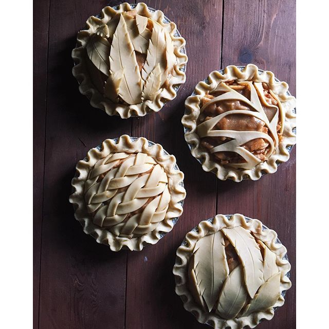 Cajeta Caramel Apple Pie. Get this and 100+ more Pie Crust recipes at http://feedfeed.info/PieCrust?img=1215377 #feedfeed