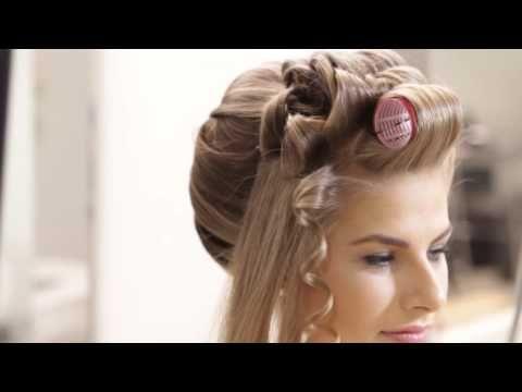 Preparação do Cabelo para Penteados Descontraídos - YouTube
