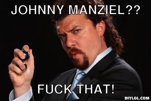Kenny Roberts on Johnny Manziel.