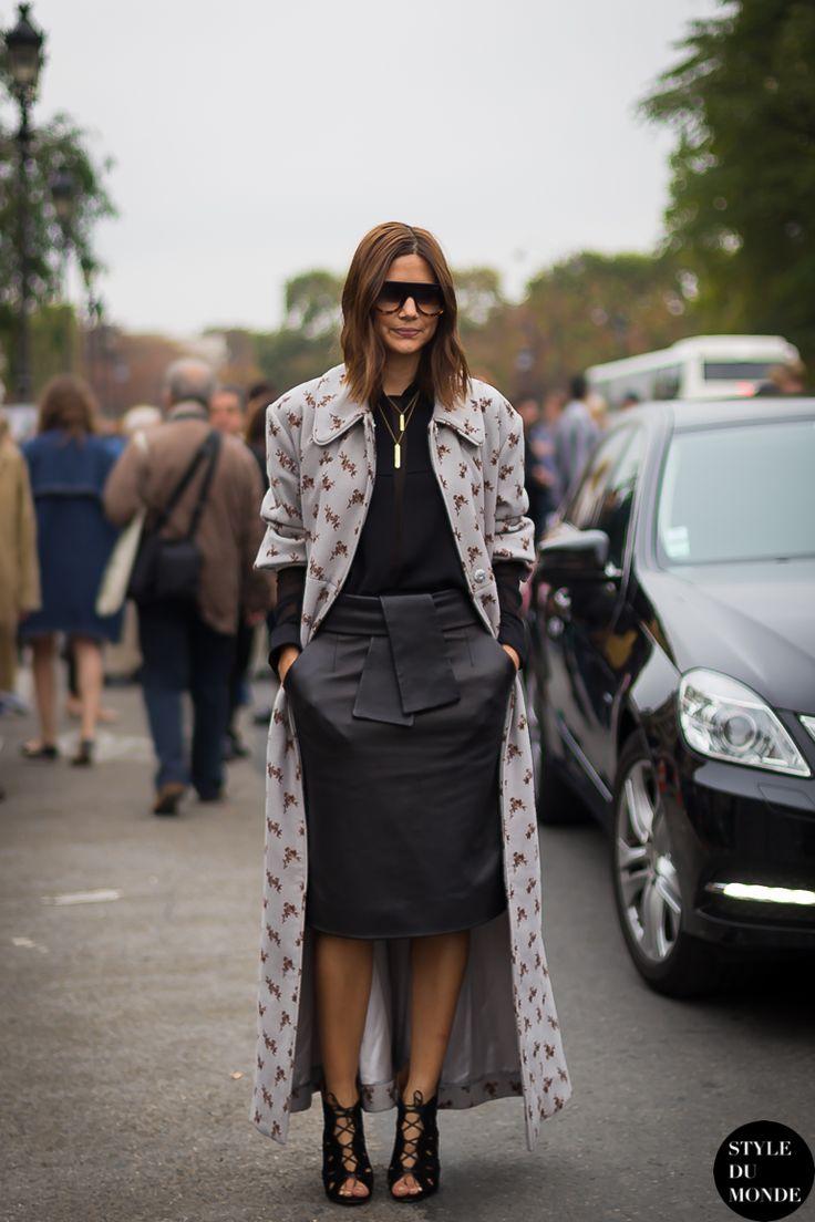 Paris FW SS14 Street Style: Christine Centenera » STYLE DU MONDE   Street Style Street Fashion Photos
