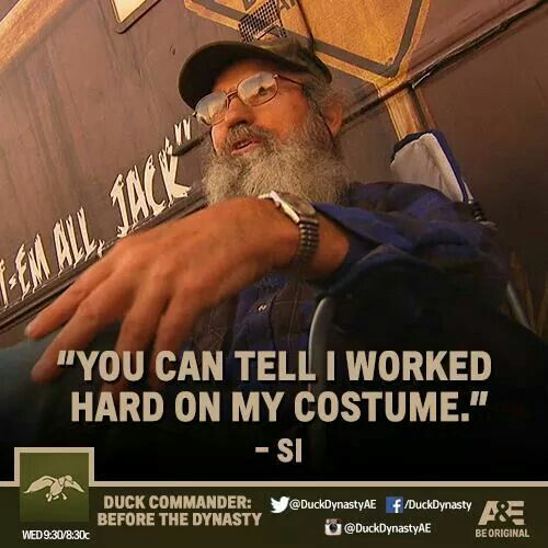 jase robertson duck dynasty on ae facebook post 102114 you can duck commanderduck dynastyhalloween costumeswork - Jase Robertson Halloween Costume