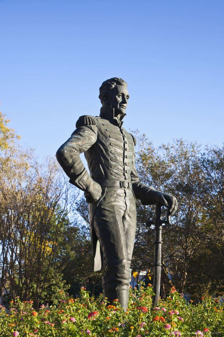 Statue of Andrew Jackson, Jackson, Mississippi.