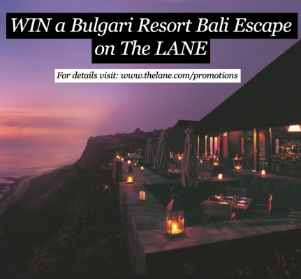WIN a Bulgari Resort Escape + flights ... just by pinning! Contest closes November 21 2012. For details visit: www.thelane.com/promotions